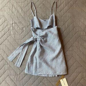 NWT Reformation Playa Dress, Size 2P (Petite)